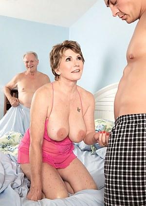 Big Tits Cuckold Porn Pictures